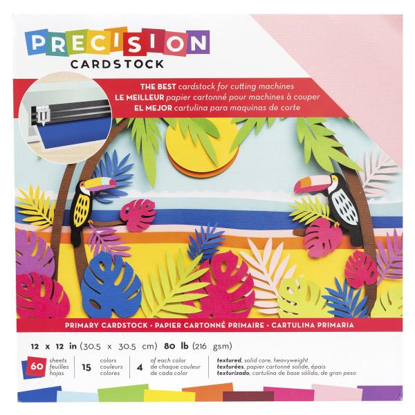 "Jasando.ch - Presicion Cardstock 12"" x 12 "" primary"