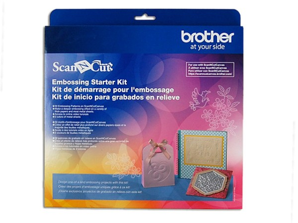 Jasando.ch - Brother Scan'n'Cut Embossing Starter Kit