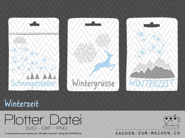 Jasando.ch - Plotterdatei Winterzeit