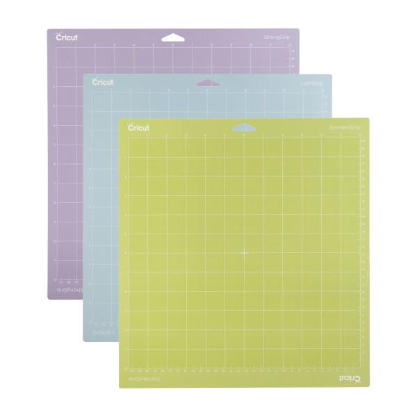 """Jasando.ch - Cricut Schneidematten 3er Set 30.5 x 30,5cm (Cutting Mat 12"""" x 12"""" Variety)"""