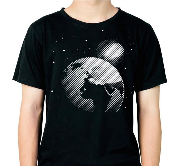 Jasando.ch - Plotterdatei SPACE ERDE UND MOND INKL SPLASH SPACE BONUS- LINEART