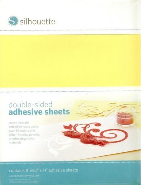 Jasando.ch - Silhouette doppelseitig klebendes Papier