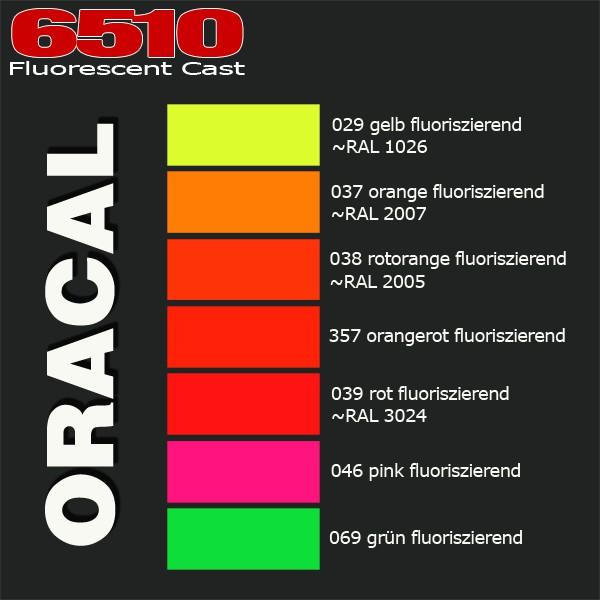 Jasando.ch - ORACAL® 6510 Fluorescent Cast - NEON