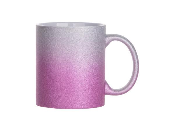 Jasando.ch - Sublistar Keramiktasse SPARK- 11oz silver purple