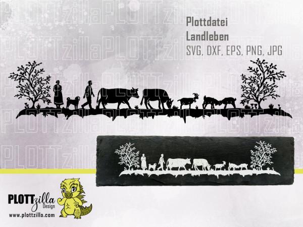 Jasando.ch - Plotterdatei Landleben