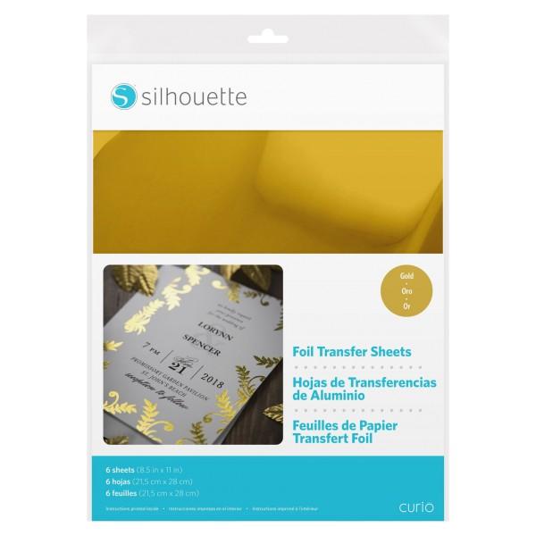 Jasando.ch - Silhouette Transferfolie Gold Curio