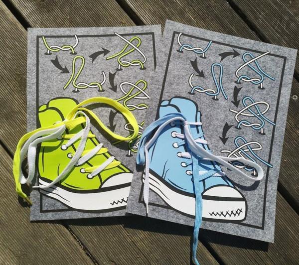 Jasando.ch - Plotterdatei Bindehilfe - einfach Schleife lernen - Sneaker mit Anleitung