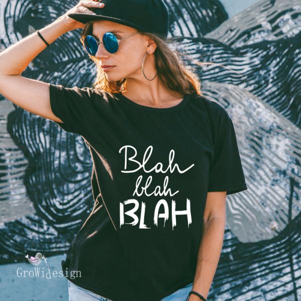 Jasando.ch - Plotterdatei Statement Blah blah BLAH