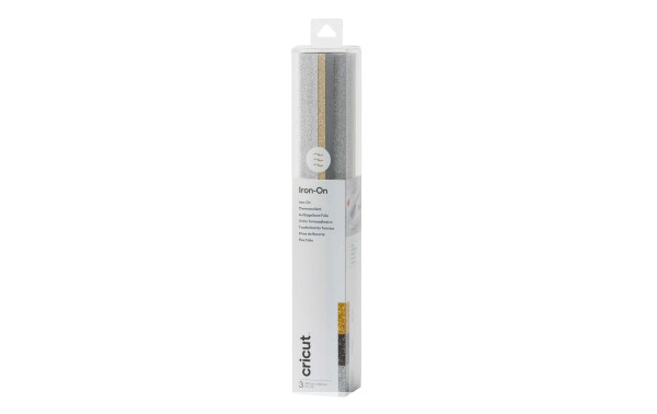 Jasando.ch - Flexfolie Glitter Basic 30.5 x 30.5 cm, 3 Bögen