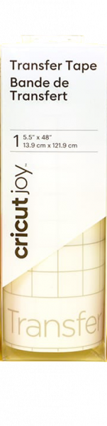 "Jasando.ch - Cricut joy Übertragungsfolie Transfertape 5,5"" x 48"" (13,9 cm x 121,9 cm)"