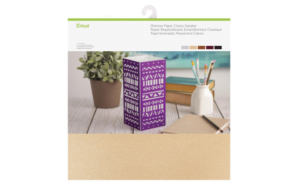 Jasando.ch - Cricut Bastelpapier Shimmer Classic 30.5x30.5 cm, 10 Stk.