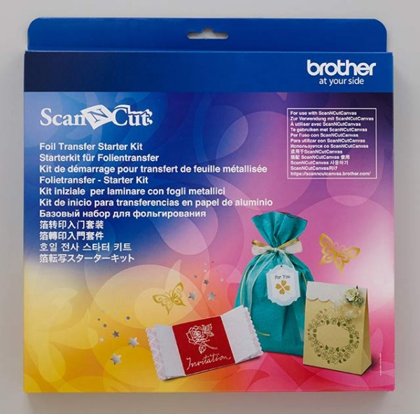 Jasando.ch - Brother Scan'n'Cut Starterkit für Folientransfer