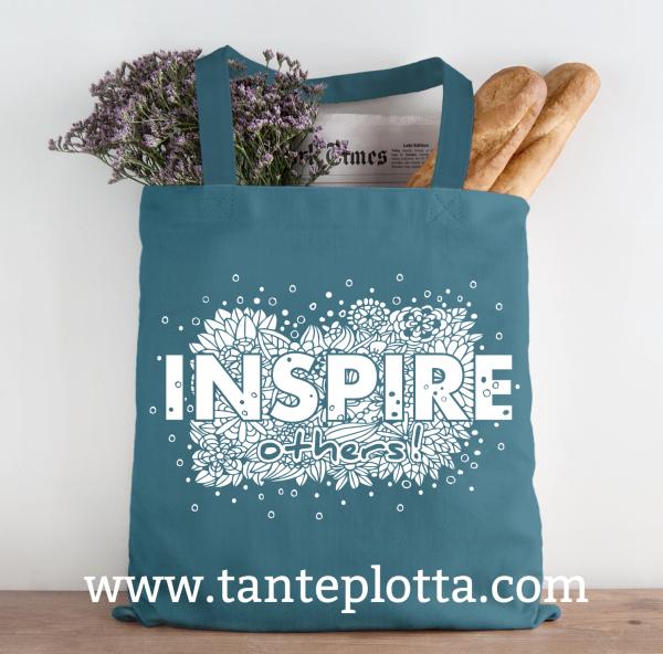 """Jasando.ch - Plotterdatei """"Inspire others"""" in 2 Varianten"""