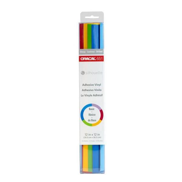 Jasando.ch - Silhouette Vinylfolie Oracal 651 Samplerpaket mehrfarbig