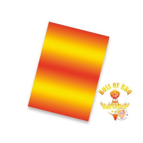 Jasando.ch - Flexfolie Blurr orange