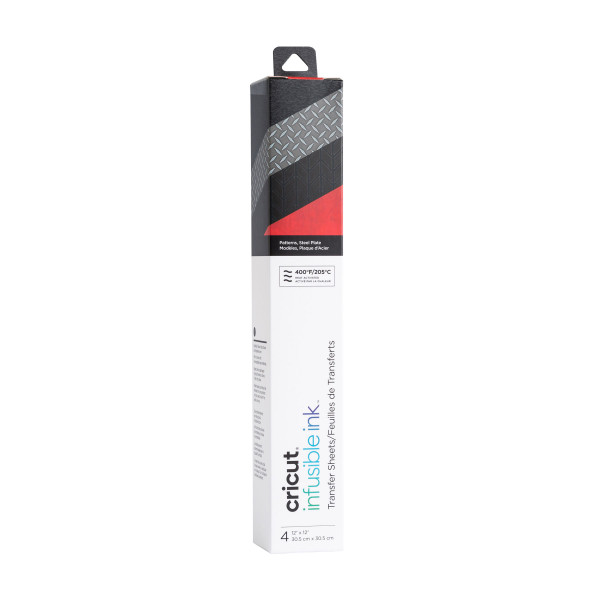 Jasando.ch - Infusible Ink Transferbogen steel plate