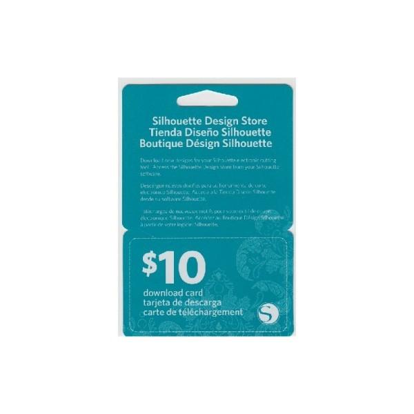 Jasando.ch - Silhouette Downloadkarte im Wert von 10$