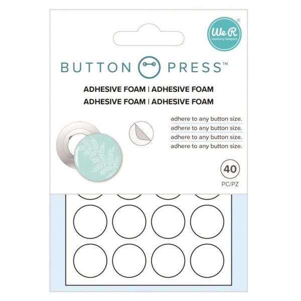 Jasando.ch - Doppelseitige Klebepunkte für Buttons 40 Stk.
