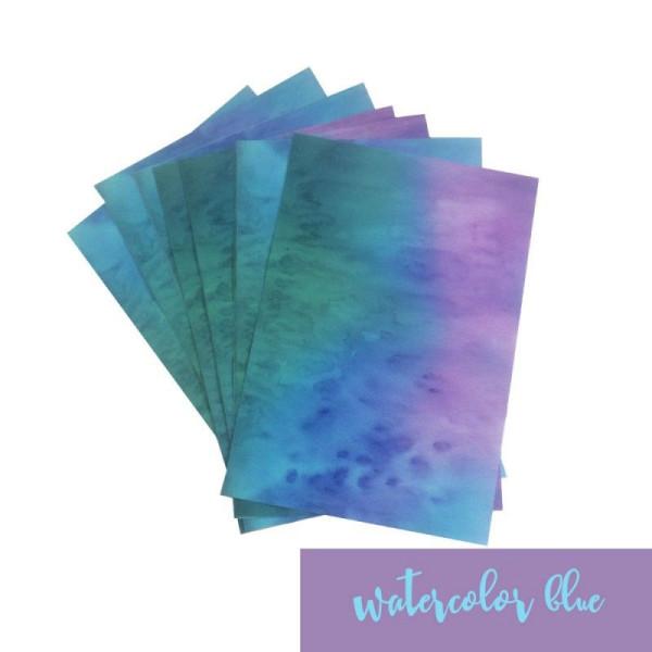 Jasando.ch - Watercolor blue Vinylfolie