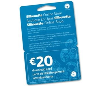 Silhouette Download-Karte 20€