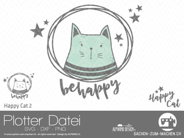 Jasando.ch - Plotterdatei Happy-Cat