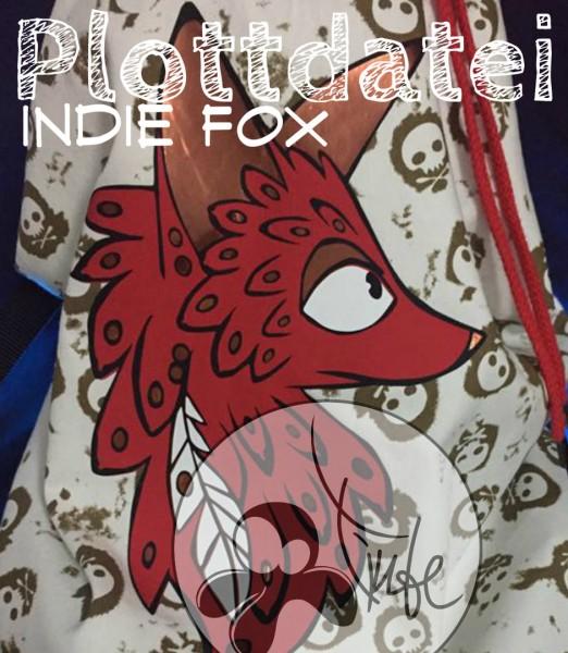 Jasando.ch - Plotterdatei Indie Fox