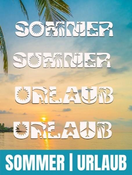 Jasando.ch - Plotterdatei SOMMER SUMMER UND URLAUB SHADOW INKL. TRASH UND SPLASH