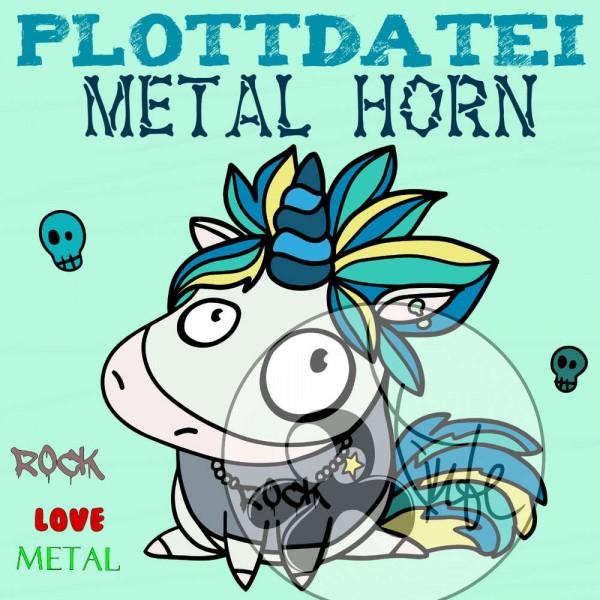 Jasando.ch - Plotterdatei Metal Horn
