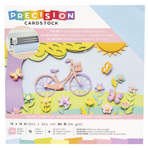 "Jasando.ch - Presicion Cardstock 12"" x 12 "" pastel"