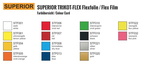 Jasando.ch - Superior Trikot-Flex für Polyester