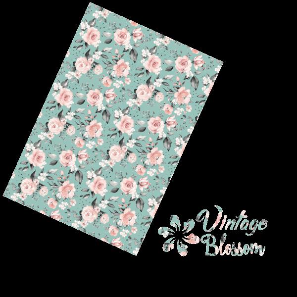Jasando.ch - Flexfolie Vintage Blossom