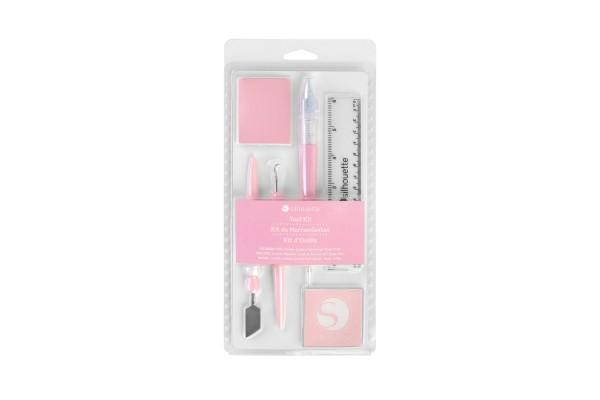Jasando.ch - Silhouette Werkzeugset rosa
