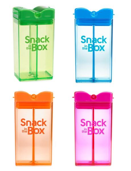 Snack in the Box - 2-teilige Snackbox für Knabberartikel