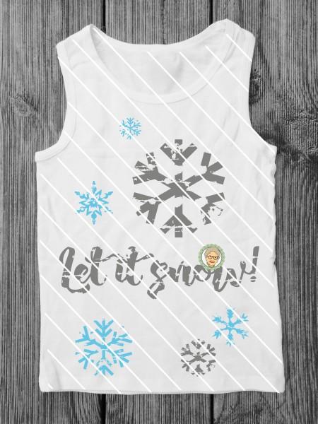 Jasando.ch - Plotterdatei Let it snow