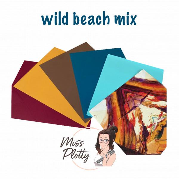 Jasando.ch - Folienpaket Wild Beach Mix