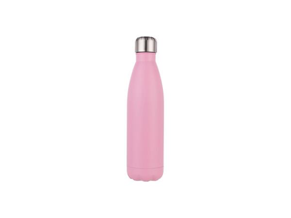 Jasando.ch - Edelstahl-Thermosflasche 0,5L matt pink