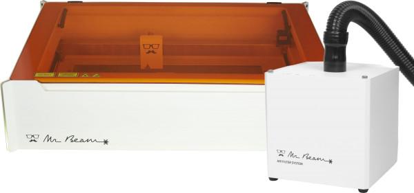 Jasando.ch -  Lasercutter MR BEAM II DREAMCUT & AIR FILTER II BUNDLE