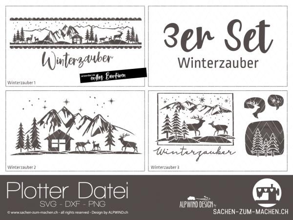 Jasando.ch - Plotterdatei Winterzauber