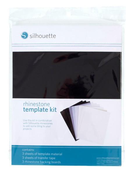 Jasando.ch - Silhouette Strass template kit