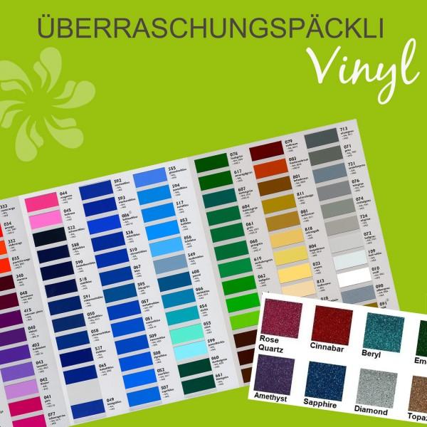 Jasando.ch - Folienpaket Überraschungspäckli Vinylfolien