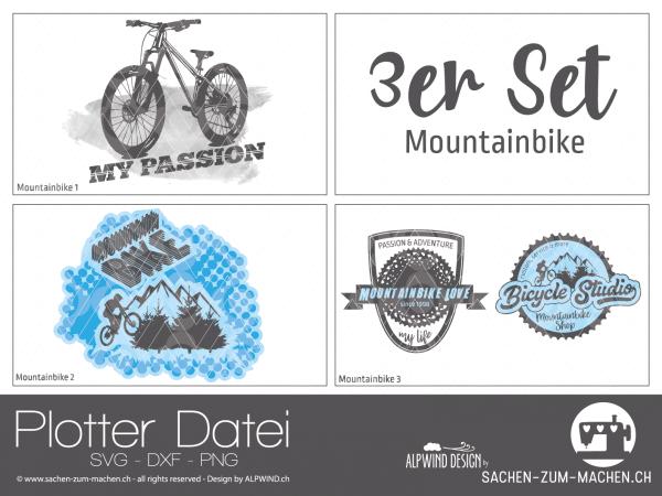 Jasando.ch - Plotterdatei Mountainbike