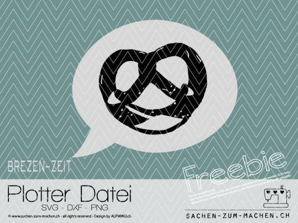 Jasando.ch - Plotterdatei Brezen-Zeit Freebie