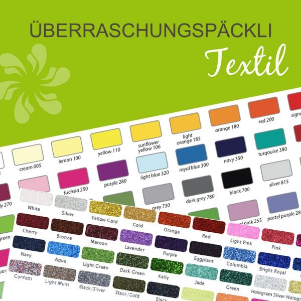 Jasando.ch - Folienpaket Überraschungspäckli Textilfolien