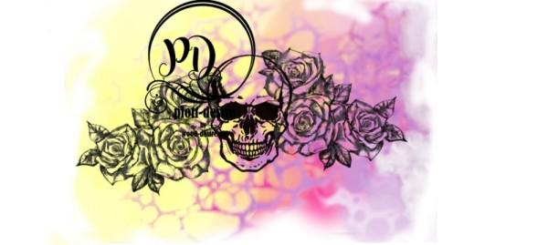 Jasando.ch - Skull and roses Digistamps
